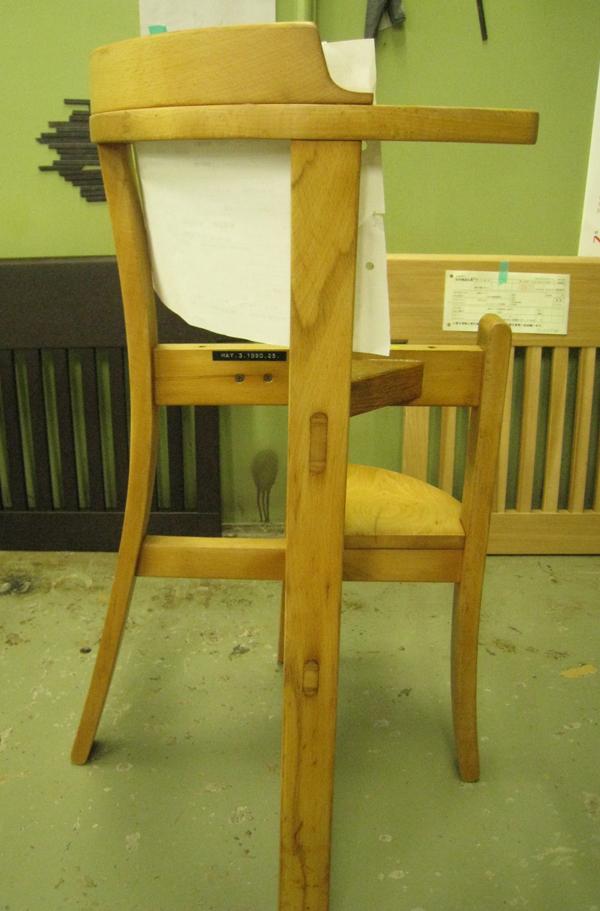 子供用椅子 剥離再塗装